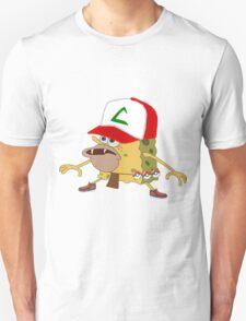 sponge bob pokemon go  Unisex T-Shirt