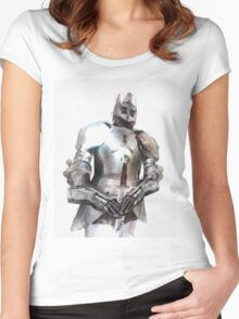 Knight in Armour Women's Fitted Scoop T-Shirt