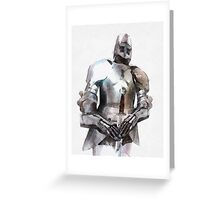 Knight in Armour Greeting Card