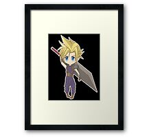 Cloud - Final Fantasy VII Framed Print