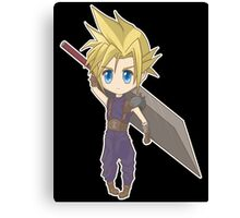 Cloud - Final Fantasy VII Canvas Print