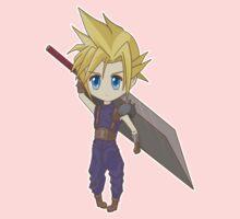 Cloud - Final Fantasy VII One Piece - Short Sleeve