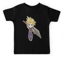 Cloud - Final Fantasy VII Kids Tee