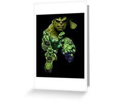 Hulk Mash-up  Greeting Card