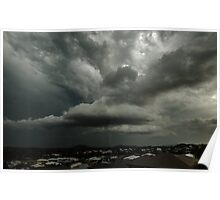 Stormy Skies over the Gold Coast Poster