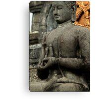 Mudra - Buddhist Monastery, Bali Canvas Print