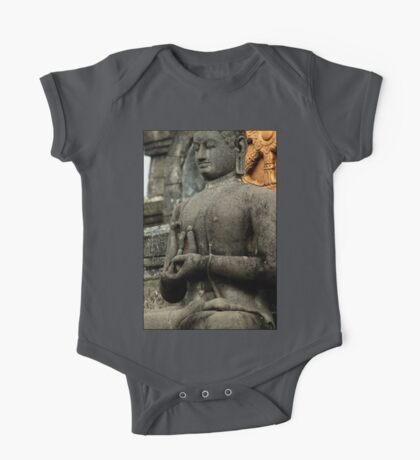 Mudra - Buddhist Monastery, Bali One Piece - Short Sleeve
