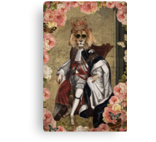 Animal Collection by Elo -- The King Canvas Print