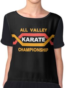 ALL VALLEY KARATE CHAMPIONSHIP 1984 Chiffon Top