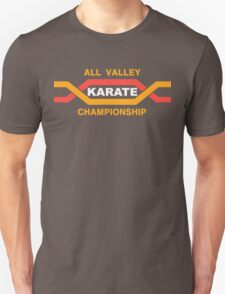 ALL VALLEY KARATE CHAMPIONSHIP 1984 Unisex T-Shirt
