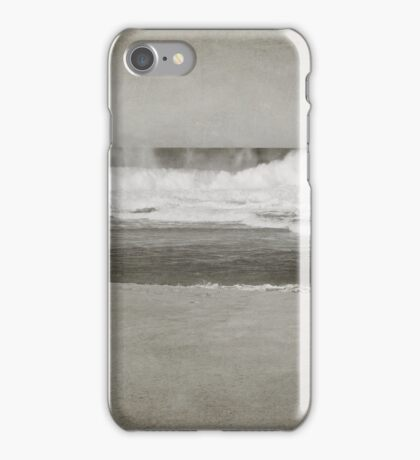 Bar Beach on a Windy Day iPhone Case/Skin