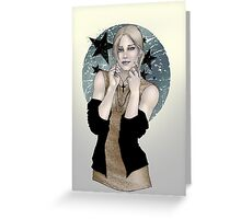 Iris the Undead Greeting Card