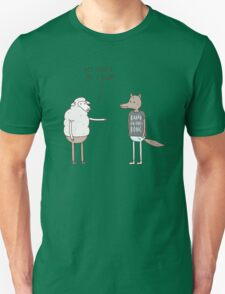 Wolf In Sheep's Clothing Unisex T-Shirt