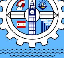 Milwaukee Flag Design Sticker