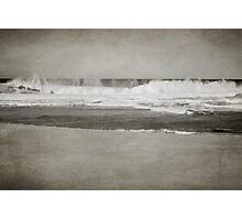 Bar Beach on a Windy Day Photographic Print