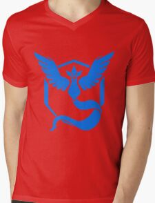 pokemon go mystic logo Mens V-Neck T-Shirt