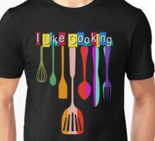 I Like Cooking Retro Kitchen Unisex T-Shirt