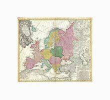 Vintage Map of Europe (1743) Unisex T-Shirt