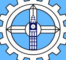 Simplified Milwaukee Flag Design Sticker