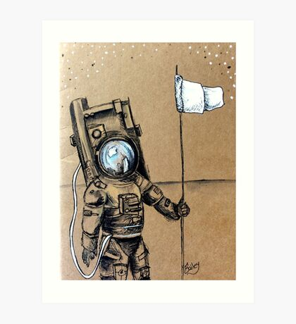 I'll Marry An Astronaut Art Print