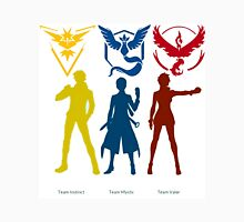 team mystic, valor and instinct Unisex T-Shirt