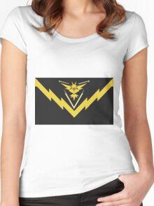 team instinct logo pokemon Women's Fitted Scoop T-Shirt