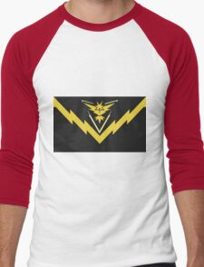 team instinct logo pokemon Men's Baseball ¾ T-Shirt