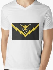 team instinct logo pokemon Mens V-Neck T-Shirt