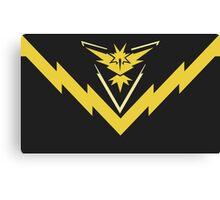 team instinct logo pokemon Canvas Print