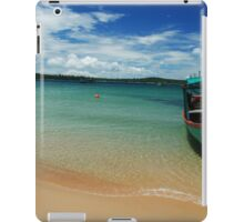 Cambodian Boat iPad Case/Skin
