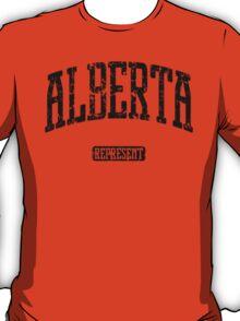 Alberta Represent (Black Print) T-Shirt
