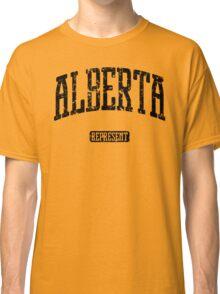 Alberta Represent (Black Print) Classic T-Shirt