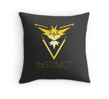 team instinct logo pokemon Throw Pillow