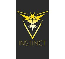 team instinct logo pokemon Photographic Print