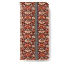 Red Vintage Butterfly iPhone Wallet/Case/Skin