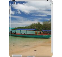Bamboo Island, Sihanoukville, Cambodia iPad Case/Skin
