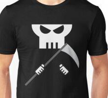 Grim Reaper minimalist design Unisex T-Shirt
