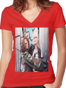 Absolutely Fabulous Women's Fitted V-Neck T-Shirt