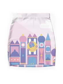 It's a small world after all Mini Skirt