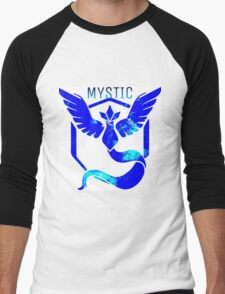 Team Mystic Galaxy Men's Baseball ¾ T-Shirt