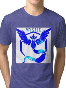 Team Mystic Galaxy Tri-blend T-Shirt