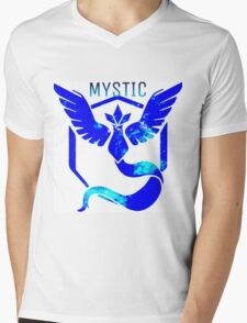 Team Mystic Galaxy Mens V-Neck T-Shirt