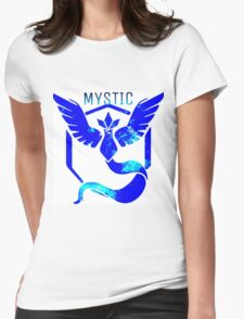 Team Mystic Galaxy Womens Fitted T-Shirt