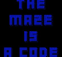 The Maze is a Code - Maze Runner by Mellark90
