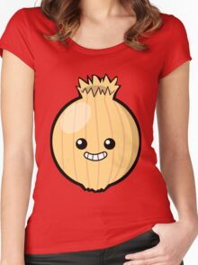 Ogres Have Layers. Onions Have Layers. Women's Fitted Scoop T-Shirt
