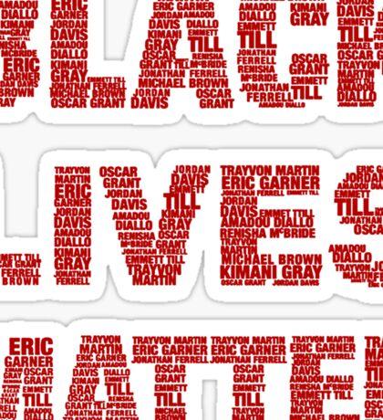 Black Lives Matter T-shirt  Sticker