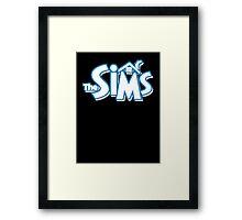 The sims logo Framed Print