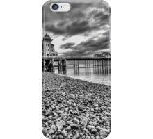 Penarth Pier Monochrome iPhone Case/Skin