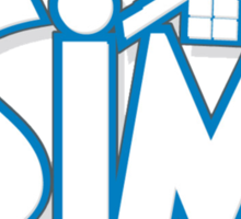 The sims logo Sticker