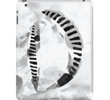 """Series 2"" Letter D Alphabet Abstract Watercolour Textured iPad Case/Skin"